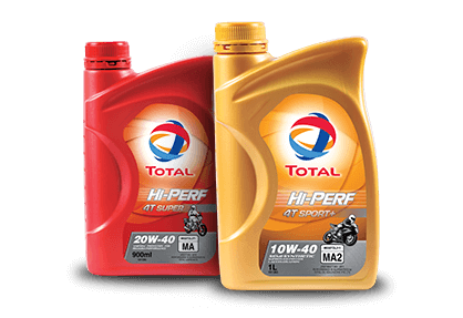 TOTAL HI-PERF MOTORCYCLE ENGINE OIL RANGE 2