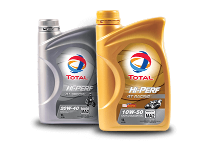 TOTAL HI-PERF MOTORCYCLE ENGINE OIL RANGE 3