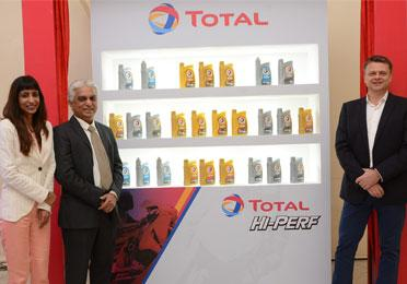 Press release - Total launches 'HI-PERF' for the Motor Cycle Oil segment