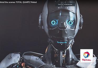 Behind the scenes Quartz robot