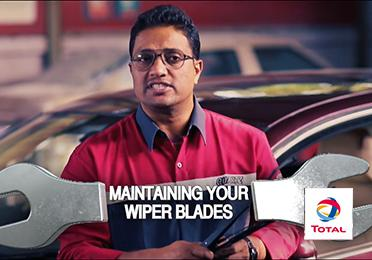 Maintaining your wiper blades