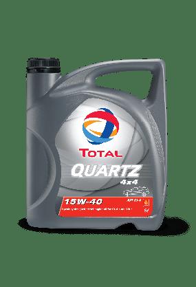 Automotive Lubricants - Cars - Our Products - QUARTZ 4X4 15W40 Page image
