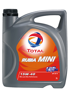AL - Trucks - RUBIA MINI15W40 Engine Oil