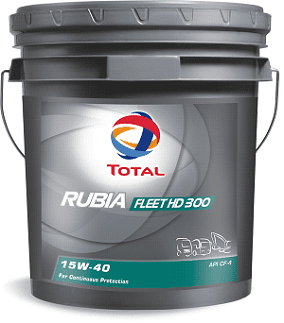 AL - Trucks - Total RUBIA FLEET HD 300 15W40 Engine Oil - main image