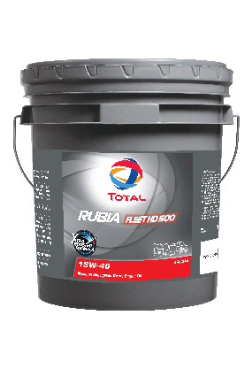 AL - Trucks - Total RUBIA Fleet HD 500 Engine Oil - main image