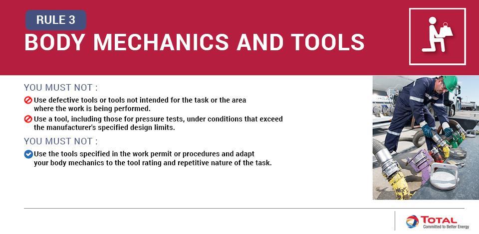 Body Mechanics and Tools
