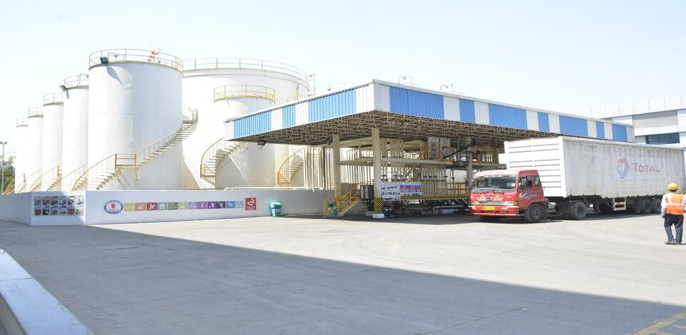 Total's liquefied petroleum gas (LPG) infrastructure