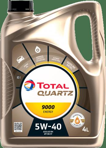 Automotive Lubricants - Cars - Our Products - QUARTZ 9000 ENERGY 5W40 Page image