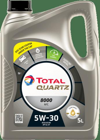 Automotive Lubricants - Cars - Our Products - QUARTZ 8000 NFC 5W30 - main image