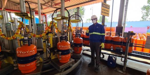 cutting gas launch