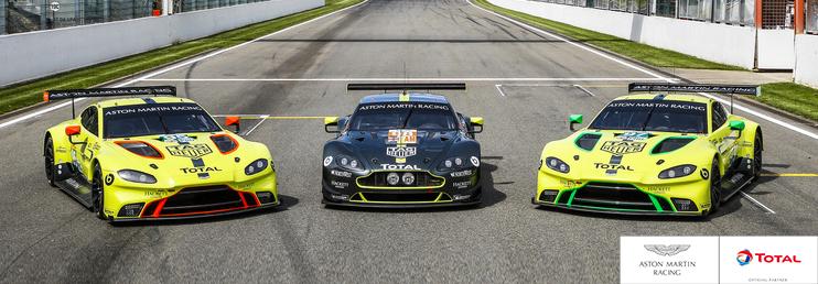 WEC - ASTON MARTIN RACING - banner image